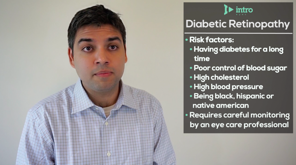 Diabetic retinopathy risk factors