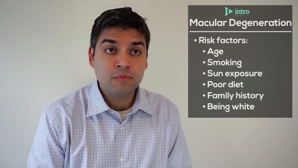 Risk factors for macular degeneration