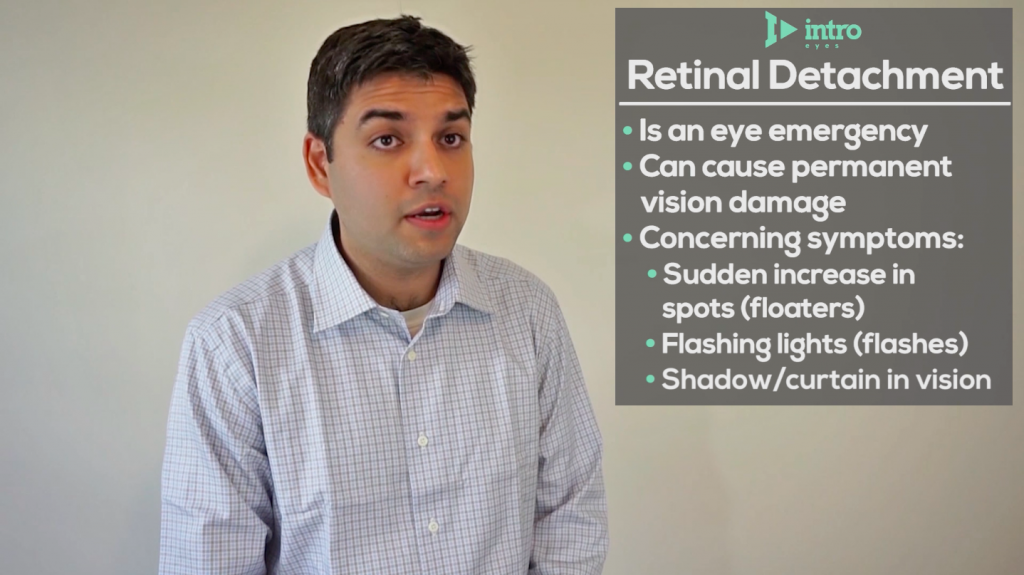 Important information about a retinal detachment.