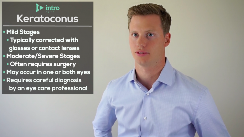 Stages of keratoconus