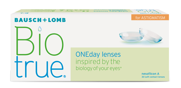 Biotrue ONEday Lenses for Astigmatism were released to the US market in 2017.