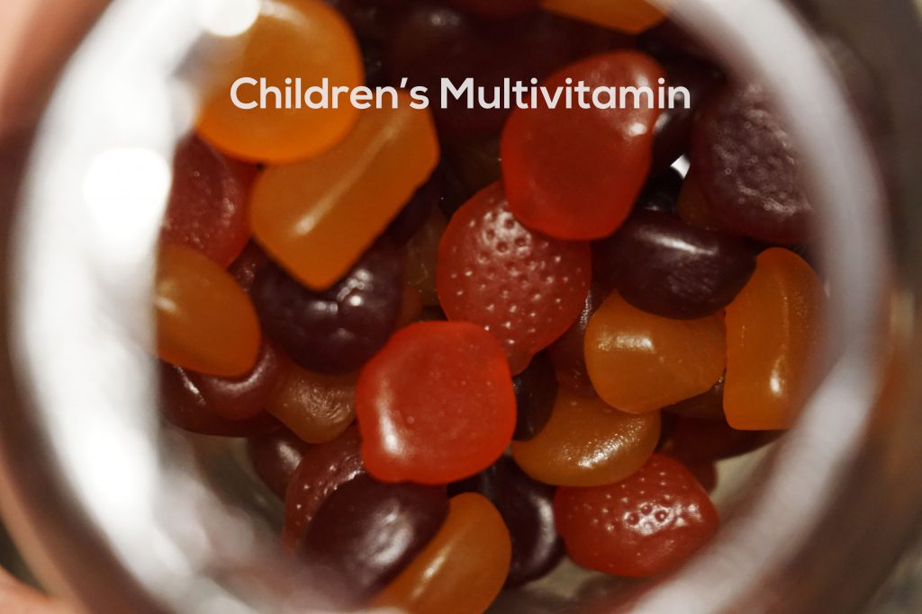 Here is an example of children's multivitamins
