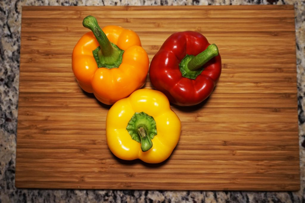 Children can get their vitamins in whole foods like peppers