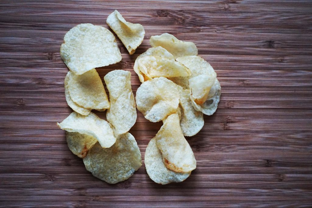 Oxylates are also in potatoe chips.