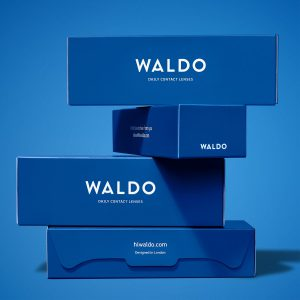 Here is an image of the new Waldo daily contact lenses