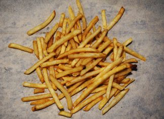 Consuming too much fatty foods, like french fries, can cause GERD flare ups.
