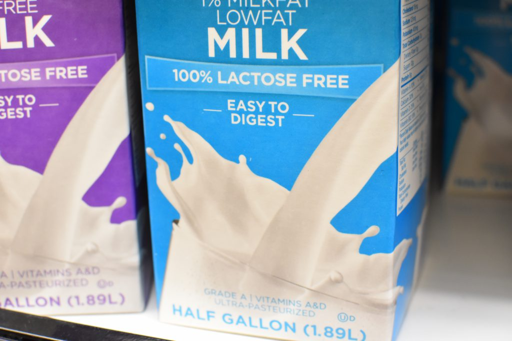 Lactose-free and lactose-reduced milk can be tolerable by individuals with lactose intolerance