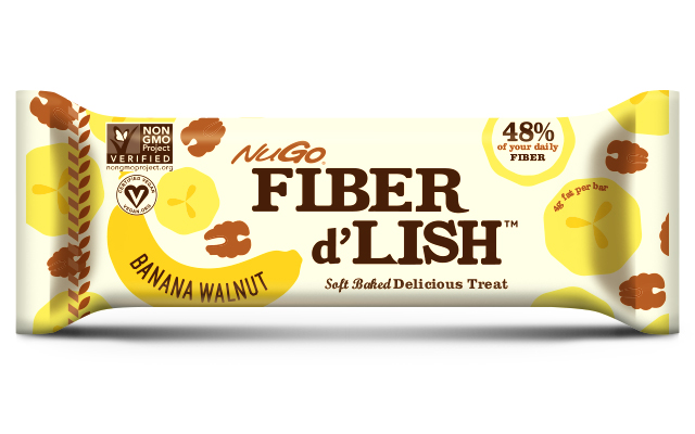 NuGo Fiber d'Lish Bars Review - Banana Walnut