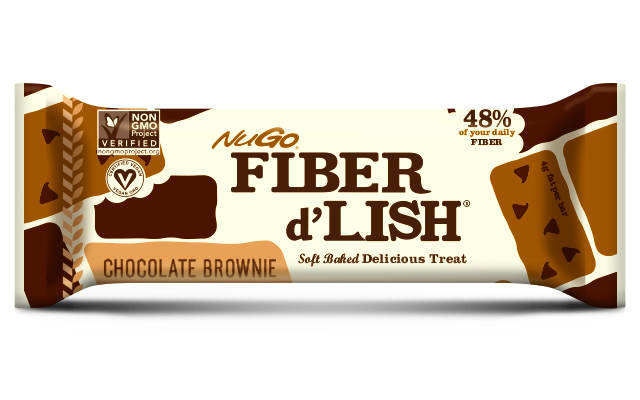NuGo Fiber d'Lish Bars Review - Chocolate Brownies