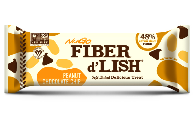 NuGo Fiber d'Lish Bars Review - Peanut Chocolate Chip
