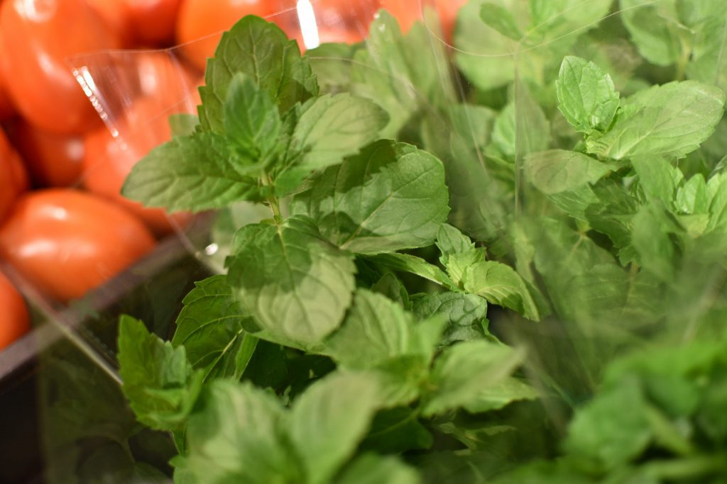 Basil provides a sweet flavor and can really spice up your sauces or pasta dishes.