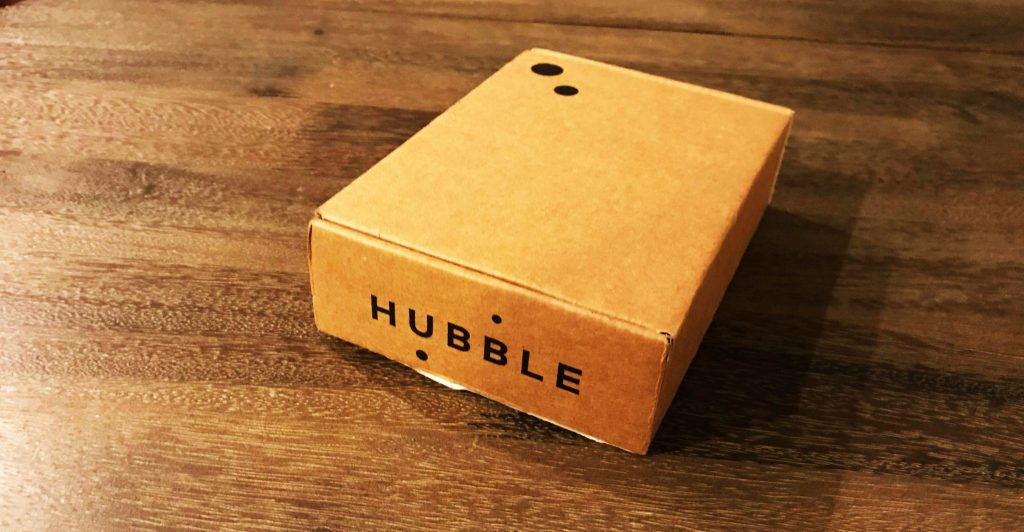 HUBBLE Contacts Shipping Box