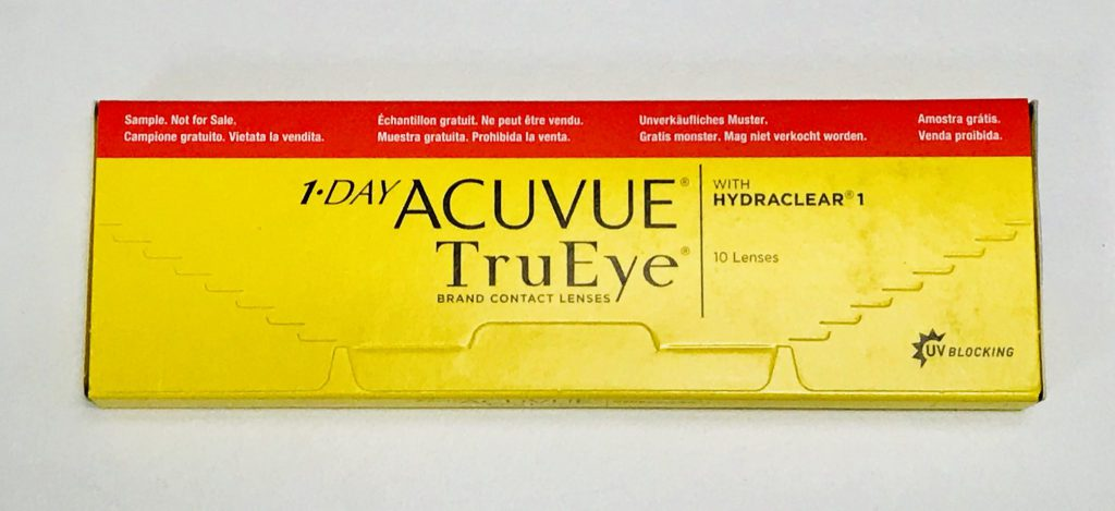 1-Day Acuvue TruEye box