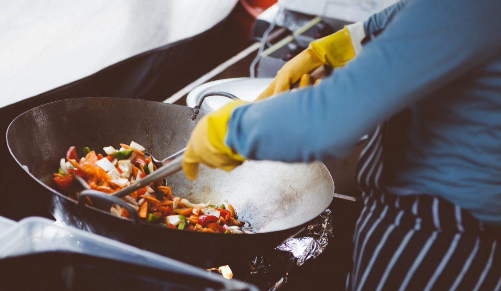 It's very important to cook foods thoroughly to destroy bacteria