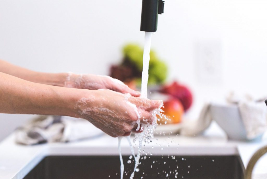 Wash your hands to prevent foodborne illnesses
