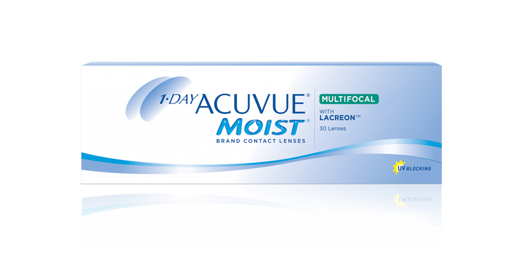 1-Day Acuvue Moist Multifocal contact lens