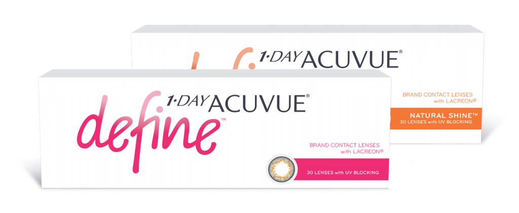 Acuvue Define contact lens