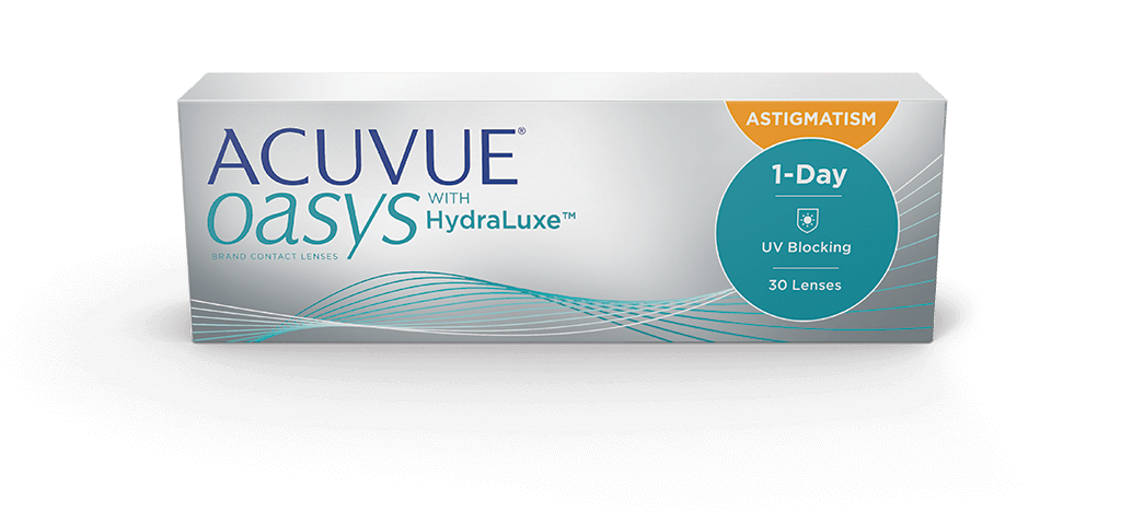 Acuvue Oasys 1-Day for Astigmatism contact lens