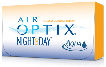Air Optix Night and Day contact lens