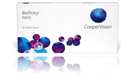 Biofinity toric contact lens