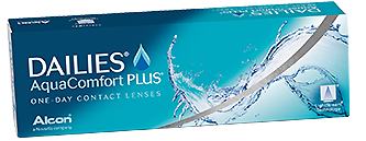 Dailies AquaComfort Plus contact lens