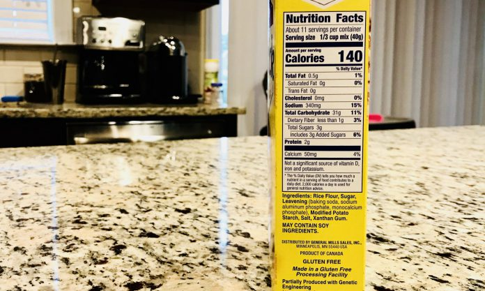 The New and Improved FDA Food Label - A Registered Dietitian's Review