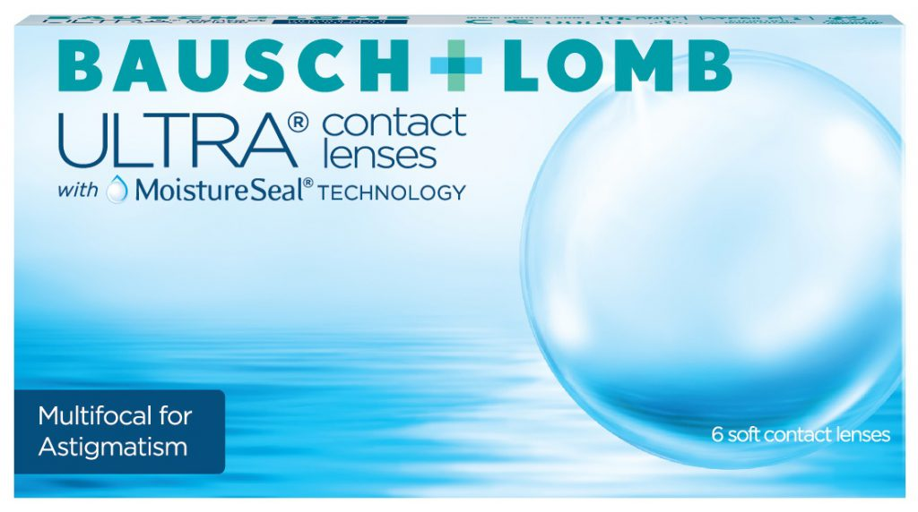 ULTRA Multifocal for Astigmatism contact lens