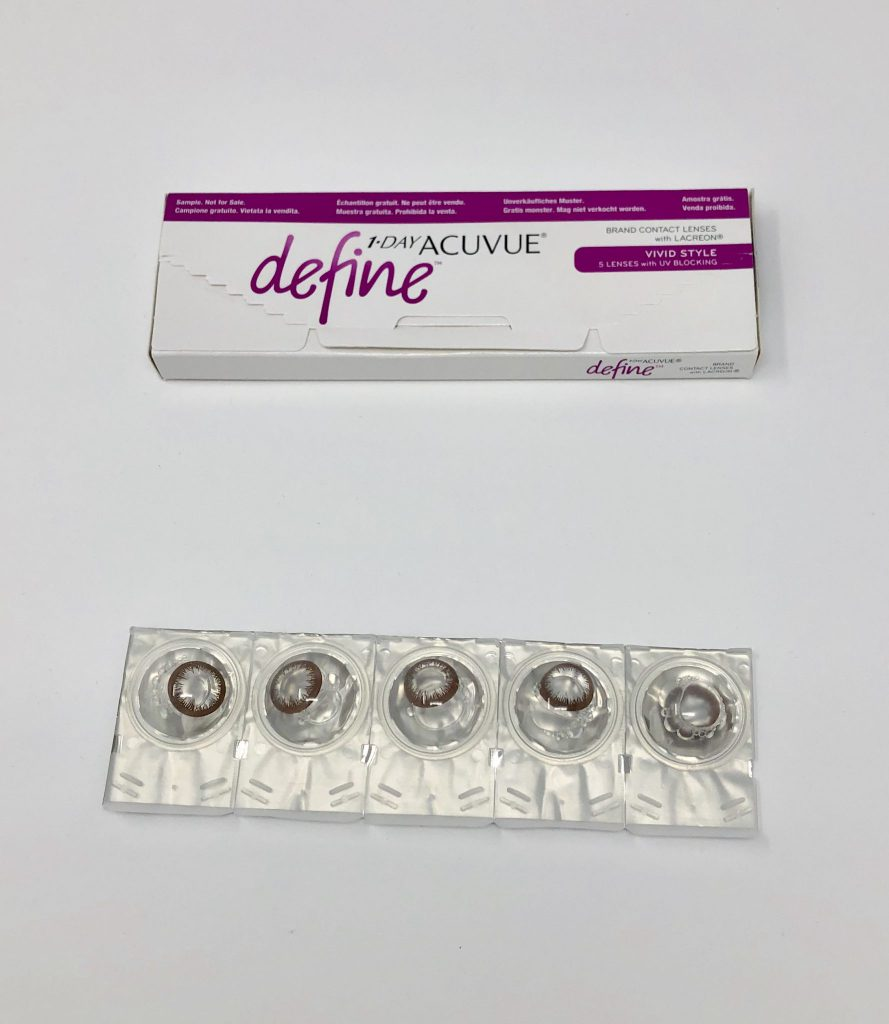 1-Day Acuvue Define Vivid Style (Box + Lenses)