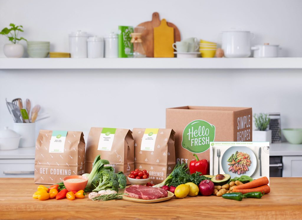 HelloFresh on the Table