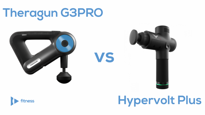 Theragun G3PRO vs Hypervolt Plus - Comparing Percussion Massagers (new)