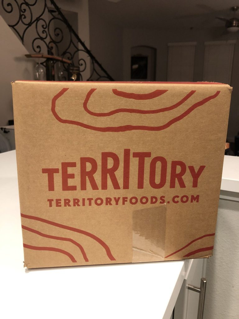 Territory Foods - Delivery Box