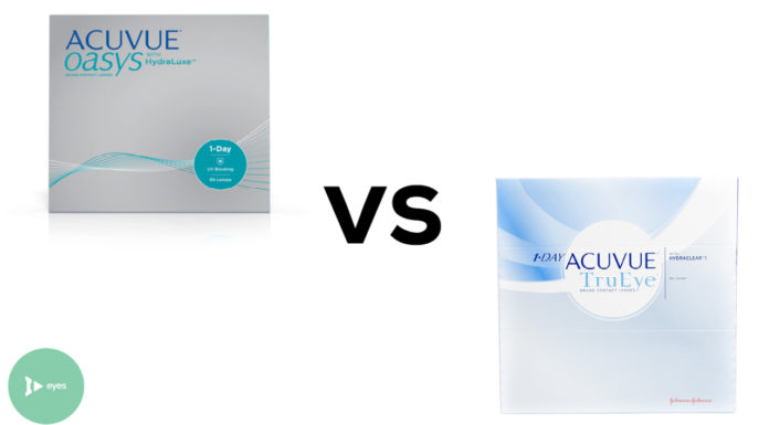 Acuvue Oasys 1-Day vs 1-Day Acuvue TruEye
