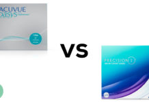 Acuvue Oasys 1-Day vs Precision 1