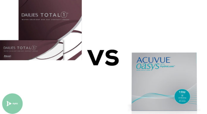Dailies Total 1 vs Acuvue Oasys 1-Day