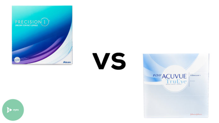 Precision 1 vs 1-Day Acuvue TruEye