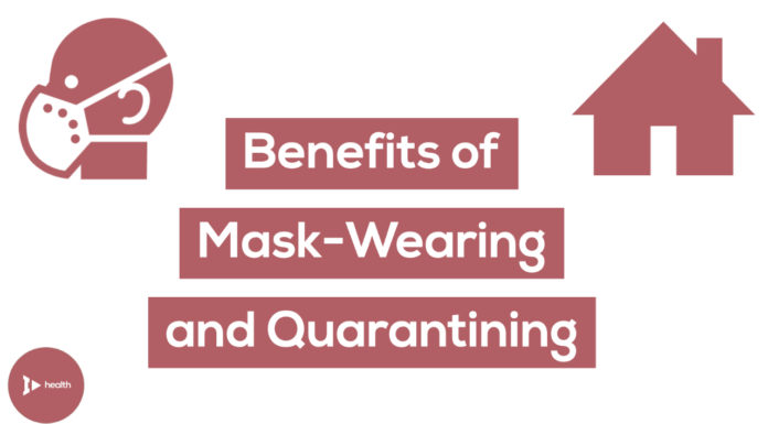 The Benefits of Mask-Wearing and Quarantining
